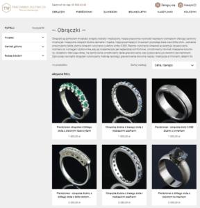 Sklep Prestashop - kategoria produktów